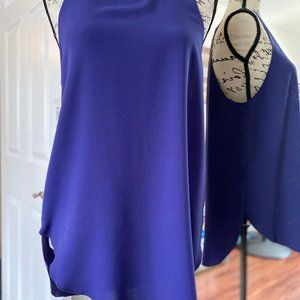 Wilfred Sevres Blouse Sleeveless Purple NWT